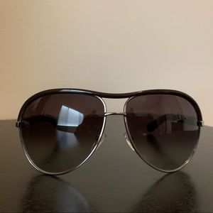 Marc Jacobs oversized sunglasses. No scratches